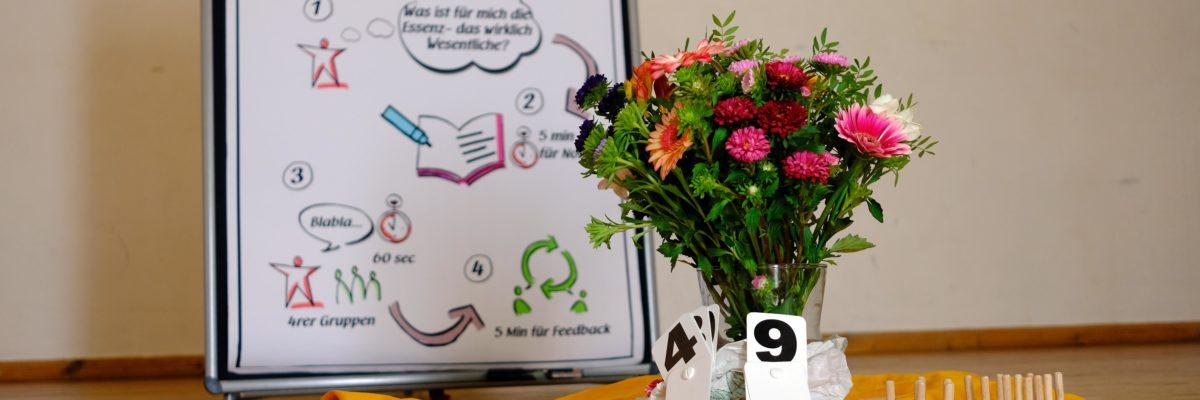 Blumen und Seminar Systemisches Konsensieren 3
